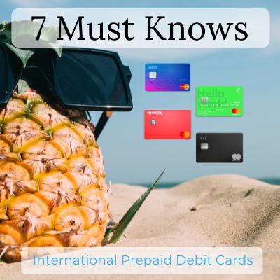 Prepaid Credit Cards - Overseas