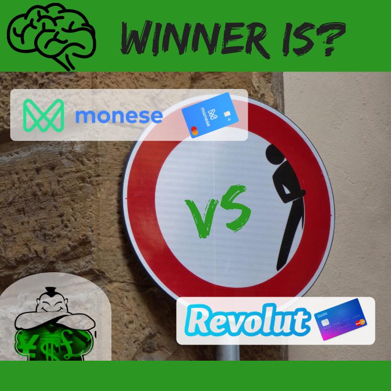 Monese Versus Revolut