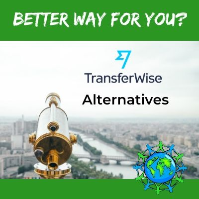 Alternative Competitors for TransferWise